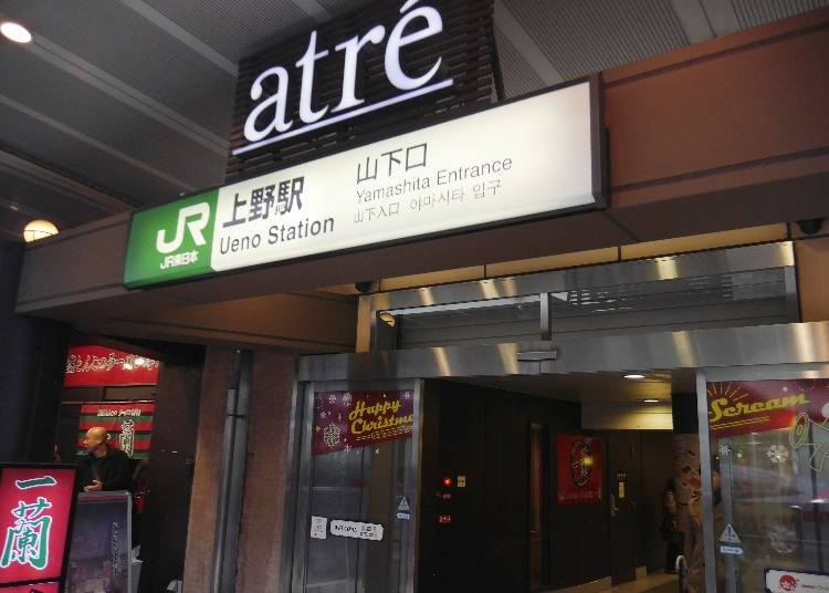 Shinobazu Gate, Yamashita Exit: A Dining Experience