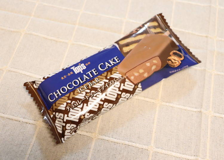 2. Tops Chocolate Cake Ice Cream Bar