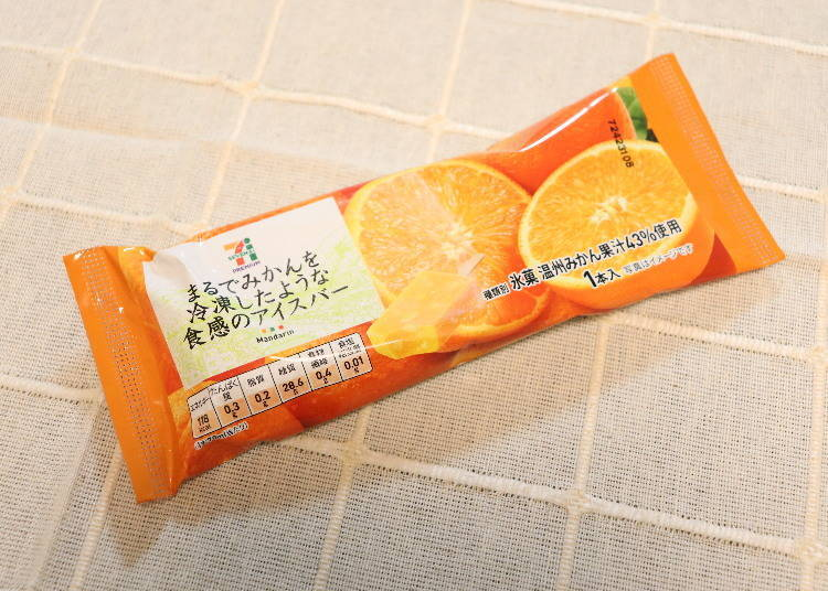 4. Seven Premium Ice Cream Bar Tastes Just Like Frozen Mandarins