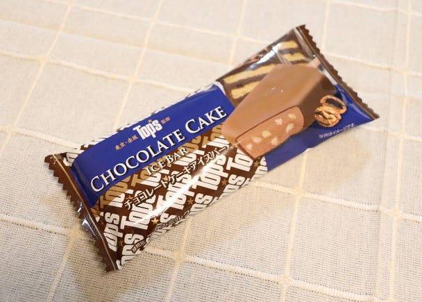 ■톱스 초콜릿케이크 아이스바