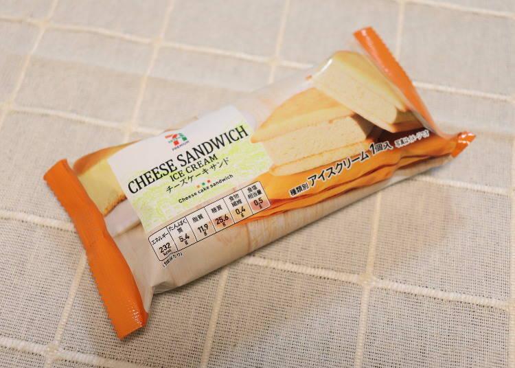 7-11 Premium 起司蛋糕夾心餅(セブンプレミアム チーズケーキサンド)