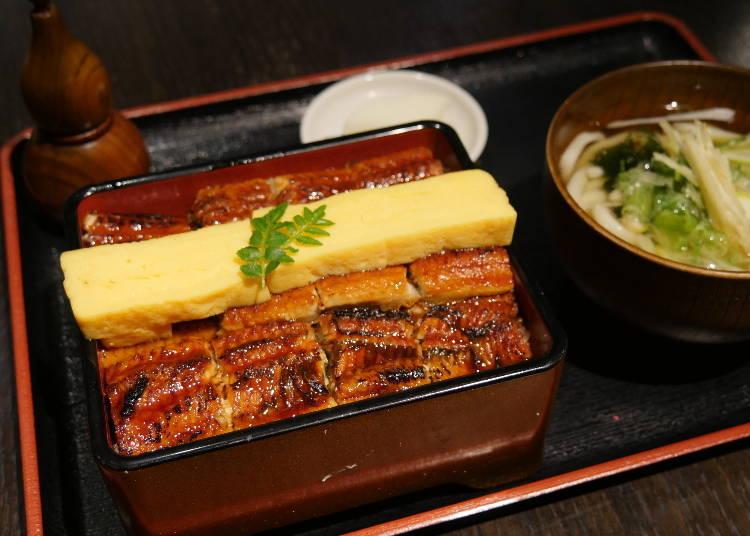 便宜又大碗的「鰻重」(烤鰻魚盒裝飯)也超級推!
