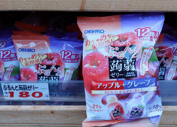 必掃零食#6 【ORIHIRO】很有彈性的蒟蒻果凍
