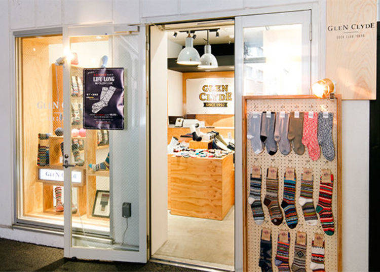 Glen Clyde Sock Club Tokyo: The Best Experience for Your Feet!
