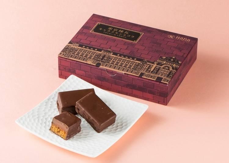 【第九名】東京煉瓦-焦糖巧克力口味(東京煉瓦(キャラメルショコラ)4入 含稅1209日圓