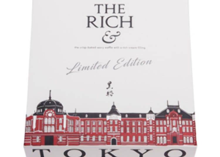【第六名】THE RICH&波浪夾心餅乾 6枚入 含稅1080日圓