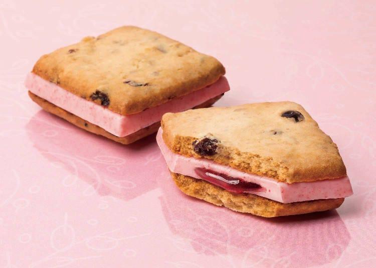 【第三名】穀麥莓果夾心餅乾(グラノーラベリーズサンド)8入 含稅1080日圓