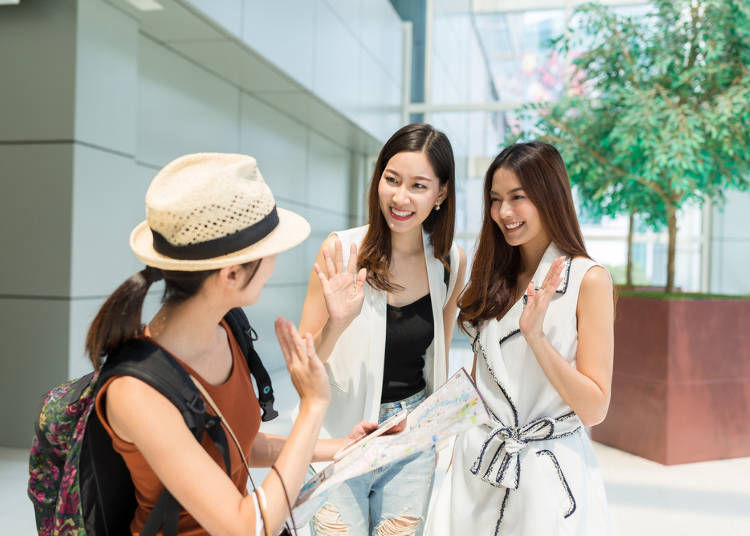 ◆ How to Say Goodbye to New Friends While Sightseeing