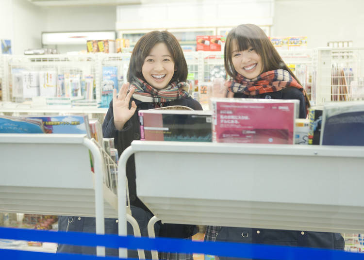Rumor Two: Do you always wear makeup when going out? Even when going to a nearby convenience store?