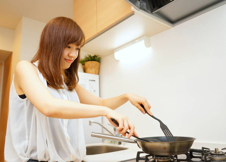 Rumor Three: Do all Japanese women know how to cook?