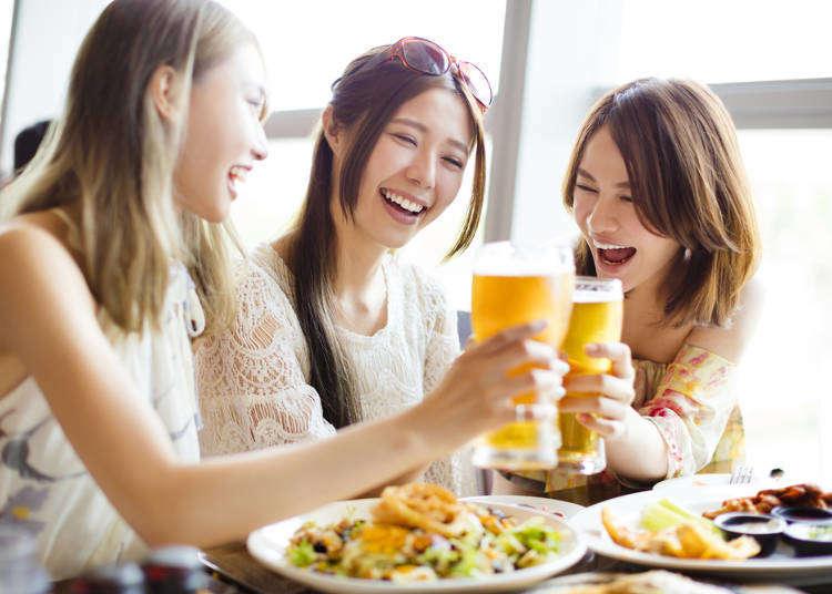 철벽을 치는 것이 아니라 배려? 깜짝 놀란 일본여자만의 매너 4가지.