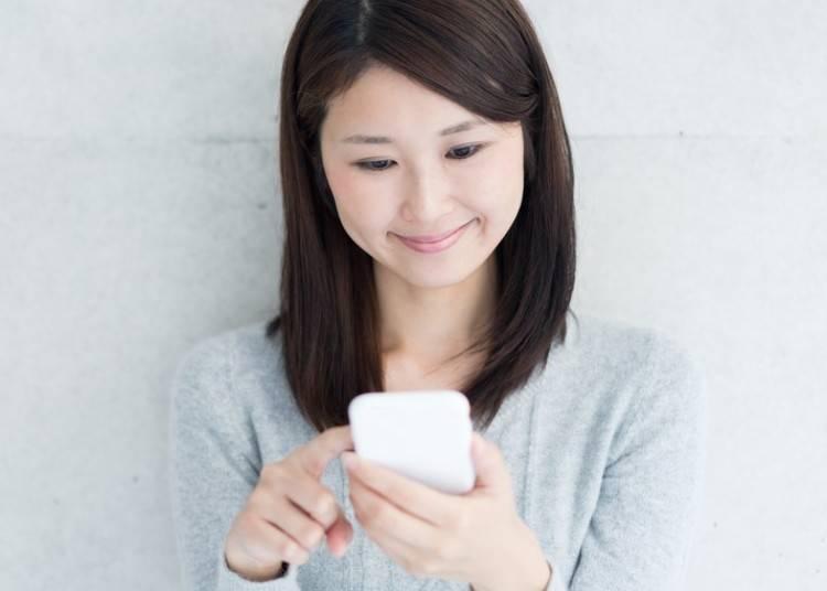 日本女子的溝通技巧⑤‐朋友間的SNS對話篇