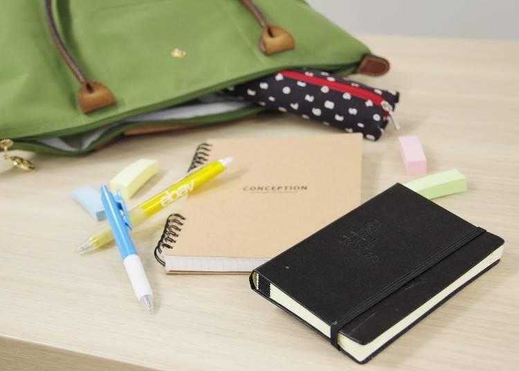 20代前半の学生たちは「手帳&ノート」が必須