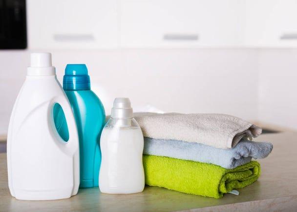 衣物清香~香香的柔軟精是必備!