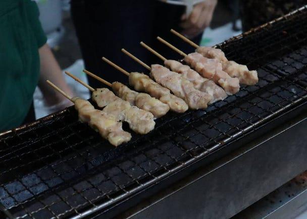 Tasting Yakitori, a Popular Dish at Izakaya