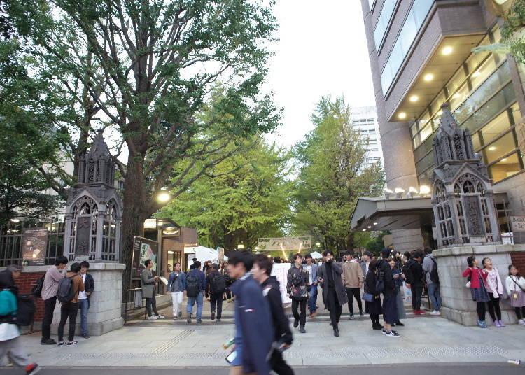 日本秋季的例行活動「學園祭」,僅在校園內才能體驗到的創意與活力!