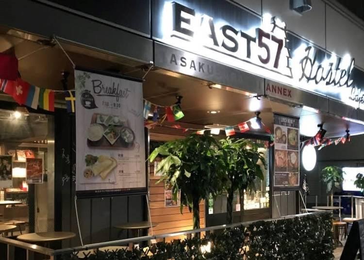 4. Hostel East 57 (Asakusabashi)