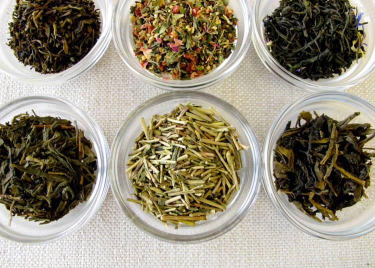 How was the Selection of Green Tea Abroad?