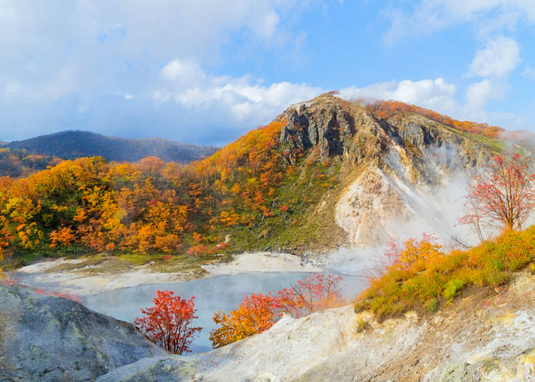 What areas of Japan are the most famous ones for onsen?