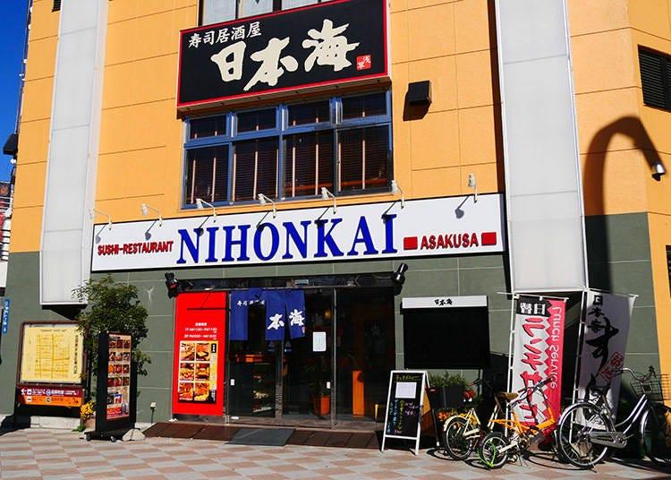 2. Nihonkai: Sushi