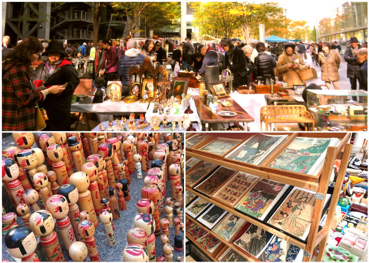 11 Fantastic Flea Markets in Tokyo: Amazing Markets in Traditional Locations