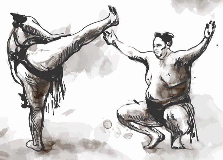 Sumo in Japan 2019