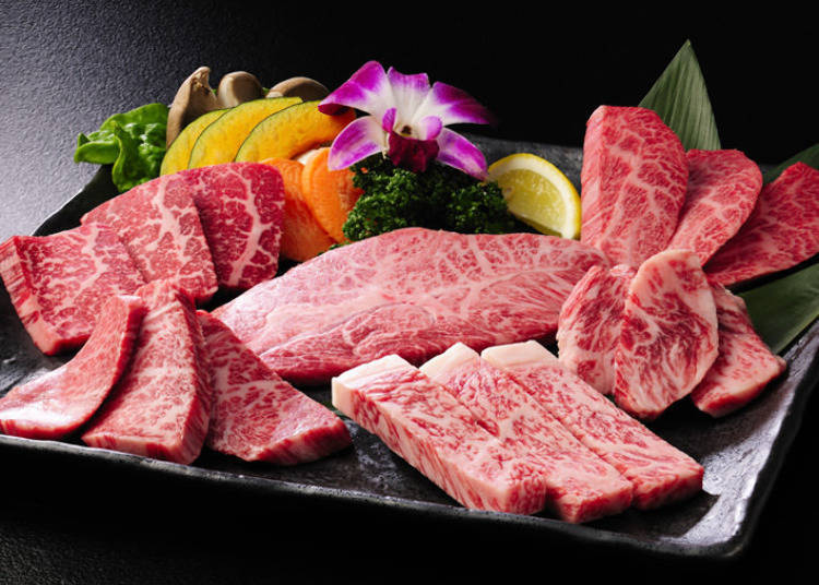 """The highest grade of all-natural Yamagata beef, down to the bone! """"Gyubei Souan"""""""