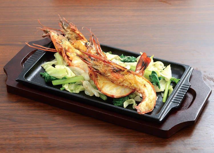"A stylish okonomiyaki shop ""Teppan Steak Okonomiyaki Pasutakan"""