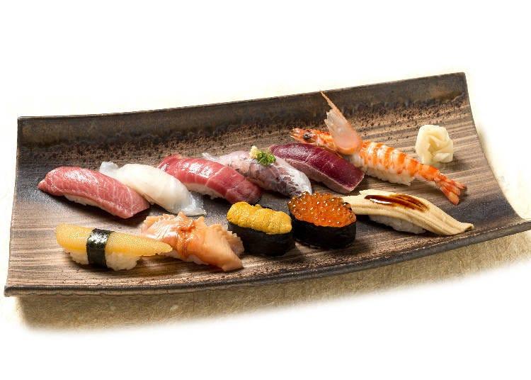 築地市場より直送の新鮮ネタで握る本格江戸前寿司の老舗『築地玉寿司』