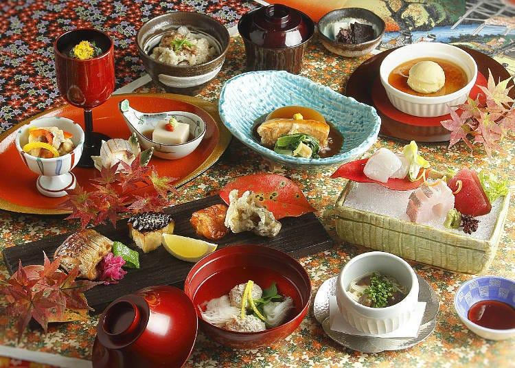 국내외의 VIP나 유명 인사에게 사랑받아 온 전통의 맛 [일본요리 시부야 나다만 사료]