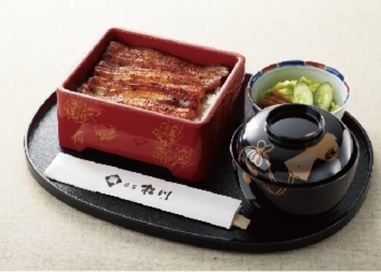 發揮職人技術製作出的極品鰻魚料理『鰻 澀谷松川』