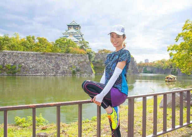 일본여행-달리면서 즐기는 일본 관광.일본이 만든 고성능 스포츠 웨어로 쾌적한 러닝 투어를!