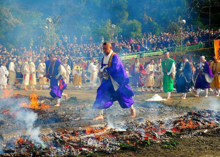 Mt. Takao Fire Walking Festival