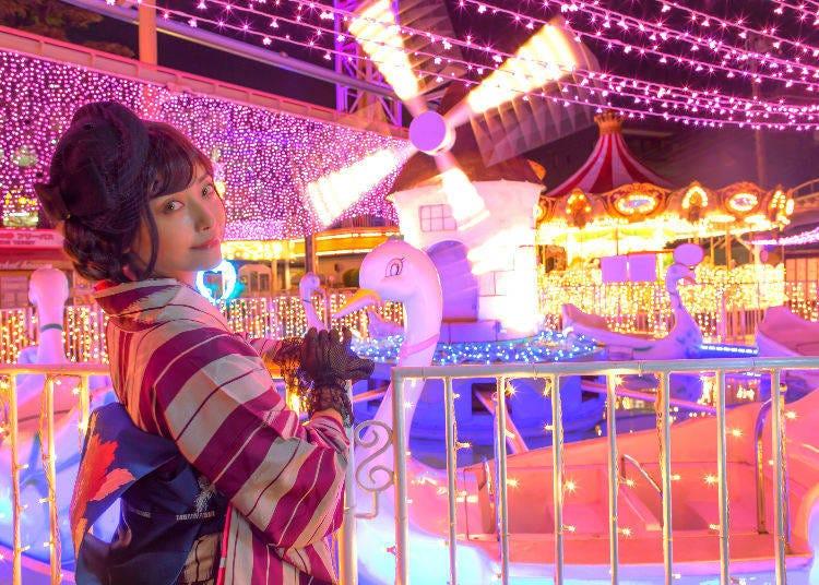 3. Enjoying 'Everyone's New Year' at Asakusa's Hanayashiki
