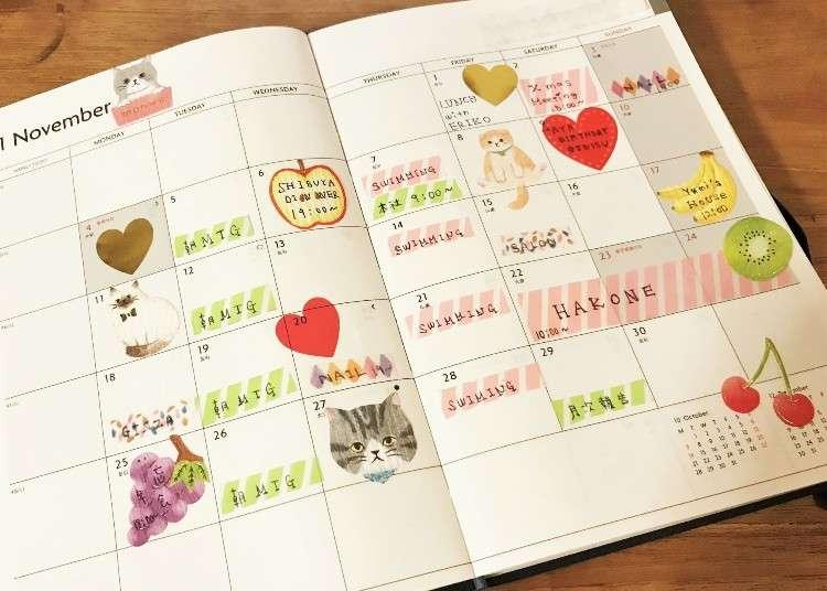 《手帳の使い方》ダイエットに!目標管理に!賢い手帳の活用術5選