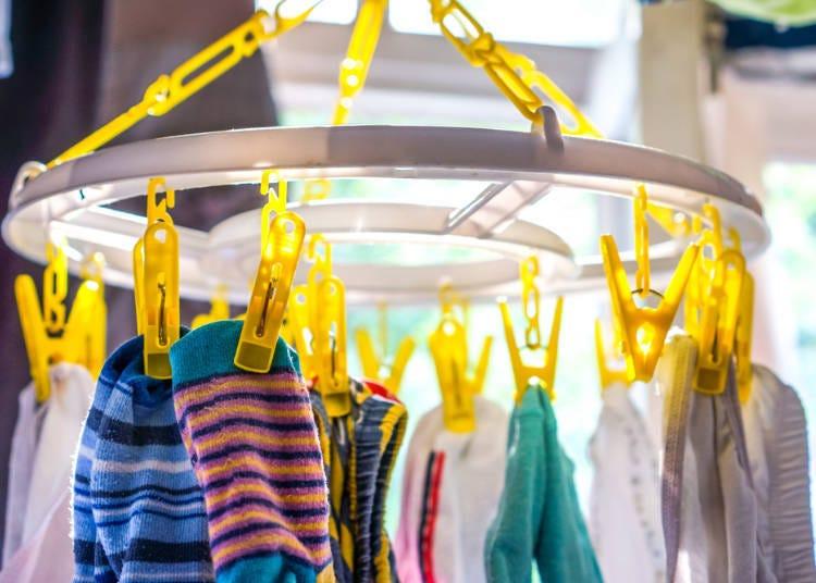 1. Laundry hangers
