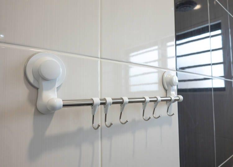 2. Towel hangers