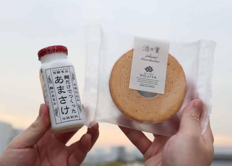 3. Toyosu Sennen Kojiya's Sake no Mi and Amasake