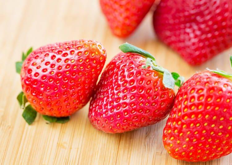 ■冬が旬のフルーツその1:イチゴ