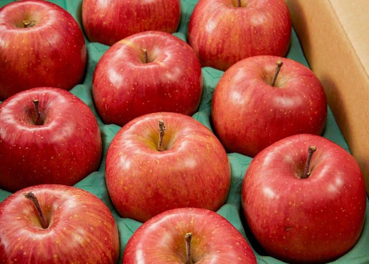 ■冬が旬のフルーツその4:リンゴ
