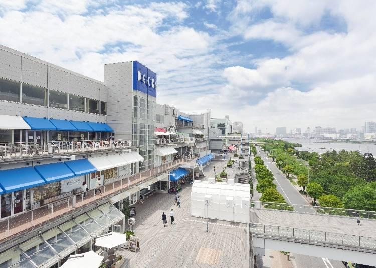 6. 屋内外エンターテイメント施設も充実「デックス東京ビーチ」