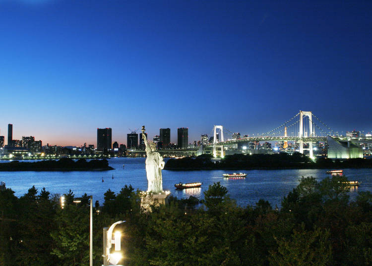 豊洲周辺は、東京湾岸の夜景が楽しめる!