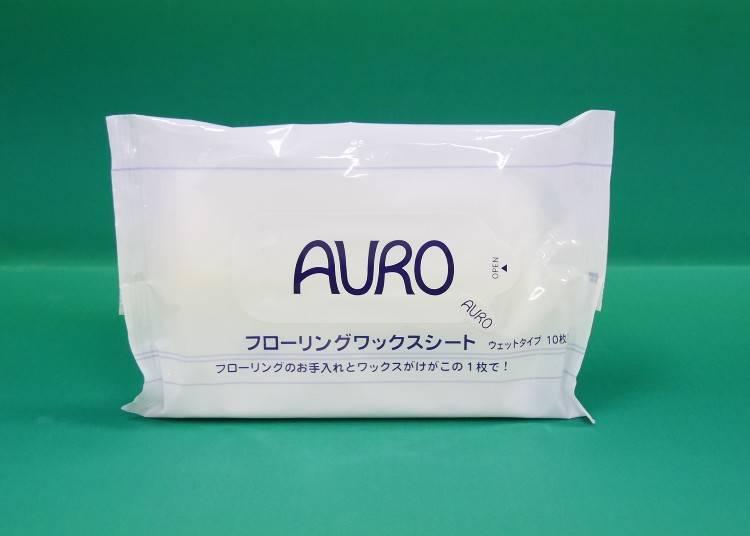 【NO.4/溫和配方不傷皮膚又環保!「AURO 地板蠟擦拭布」】