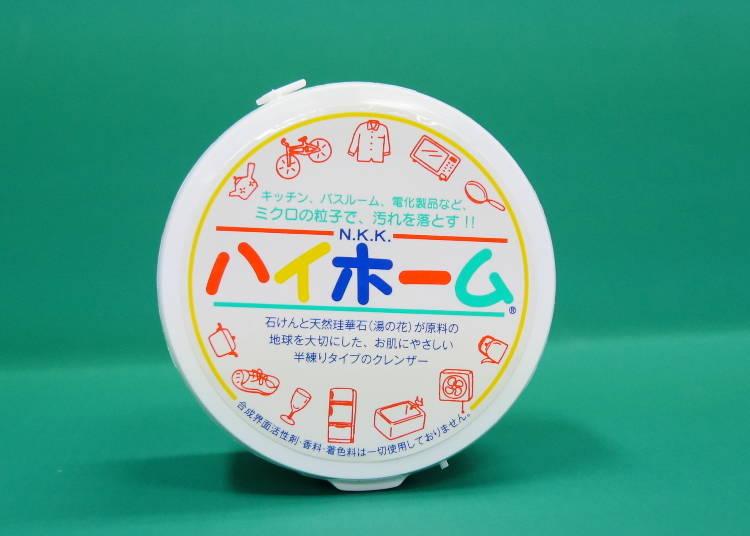 【NO.8/溫泉的湯之花研磨配方!長銷熱賣的天然清潔劑「HighHome」】