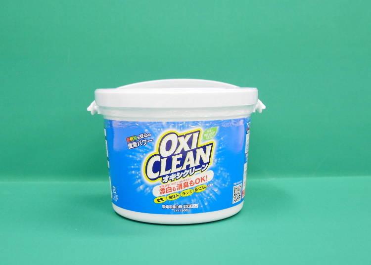 【NO.9/在日本人氣的「浸泡OXI」!酵素強效洗淨&漂白「OXI CLEAN」】