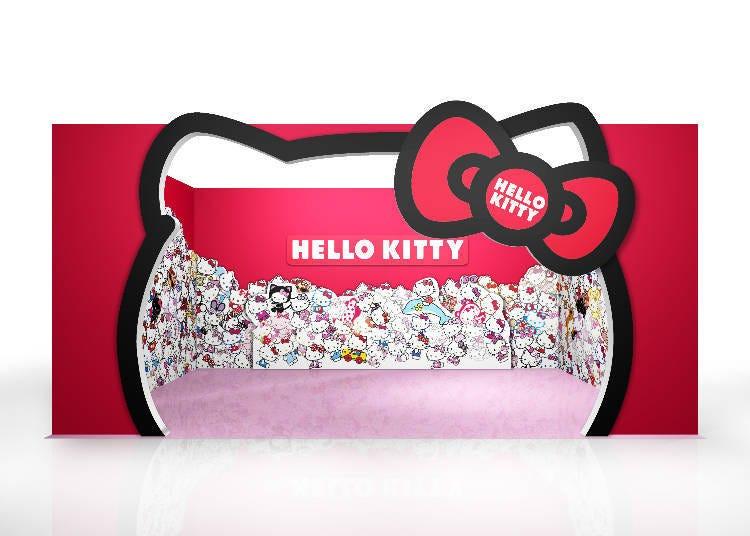 日本初登場!來「HELLO KITTY ROOM」拍照吧!