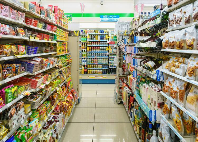 3. Don't miss the convenience stores! We recommend especially their desserts