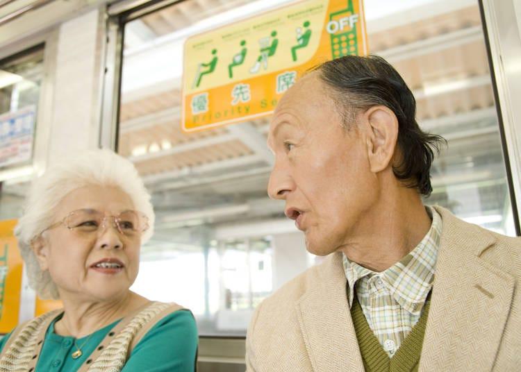 什麼!?日本人搭車沒在讓座?