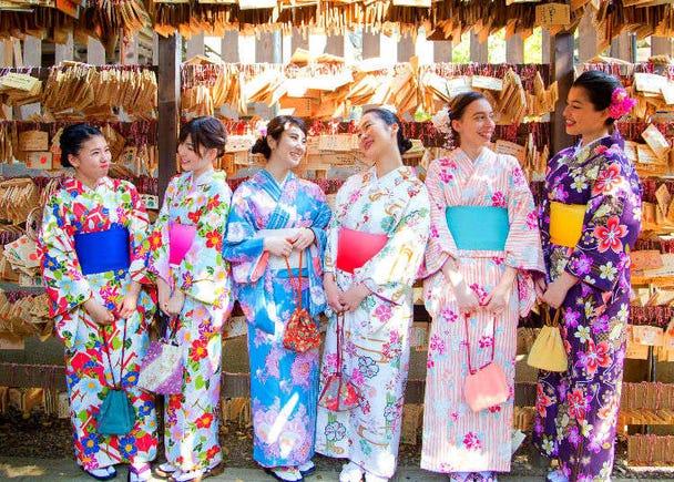 Experience Japanese Tradition! 5 Popular Kimono Rental Shops around Tokyo