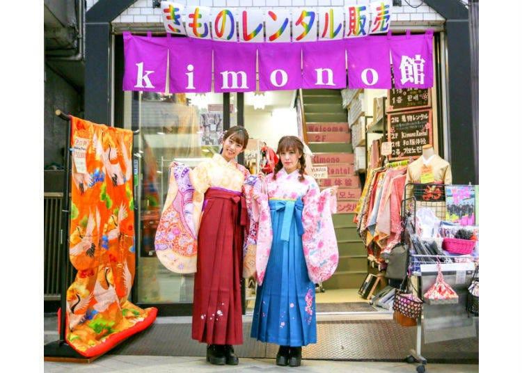 1. kimono館 淺草店:來人氣觀光地區淺草享受租借和服的樂趣吧